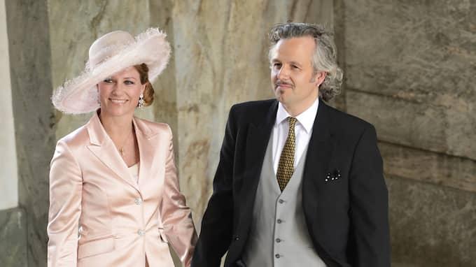 Författaren Ari Behn, 46, och norska prinsessan Märtha Louise, 45, gick skilda vägar i augusti i fjol. Foto: CHRISTIAN ÖRNBERG
