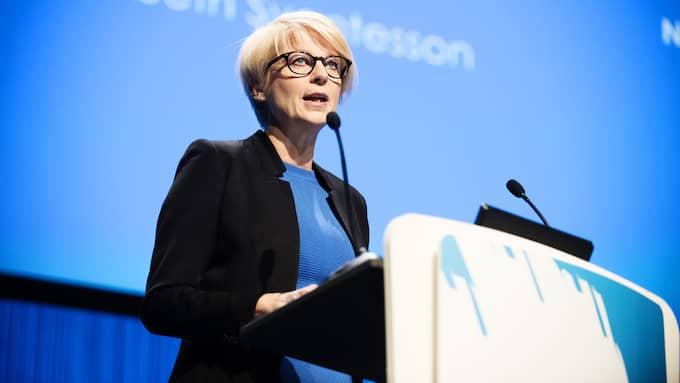 Elisabeth Svantesson (M), arbetsmarknadspolitisk talesperson. Foto: ANNA-KARIN NILSSON