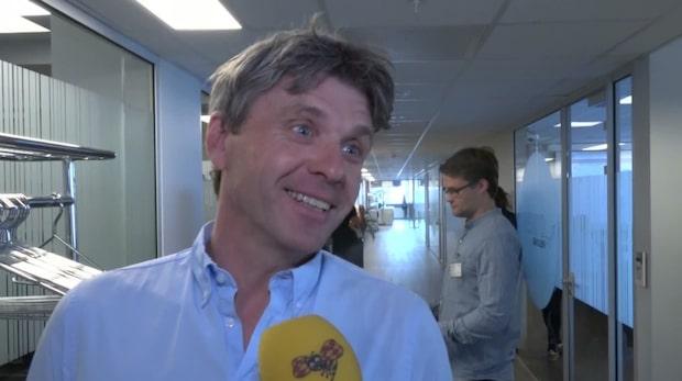 """Jörn Ernst: """"Väldigt härligt att stå här och vara i mål"""""""