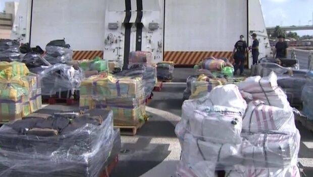 Kustbevakningens kokainbeslag - värt 4,4 miljarder kronor