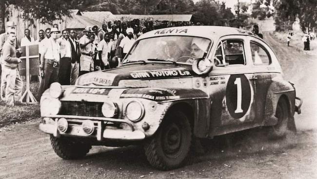 Volvo PV544 – vinnaren i Safarirallyt 1965.