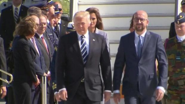 Trump deltar vid Natos toppmöte