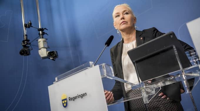 Erik Bromander är infrastrukturminister Anna Johanssons närmaste medarbetare. Foto: Pelle T Nilsson/ STELLA PICTURES
