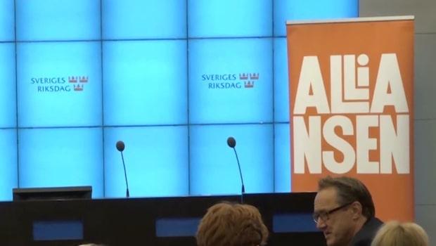 Sverigedemokraternas motkrav till alliansens talman