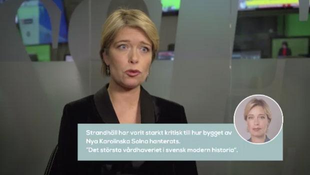 Bara politik: Se hela intervjun med Annika Strandhäll