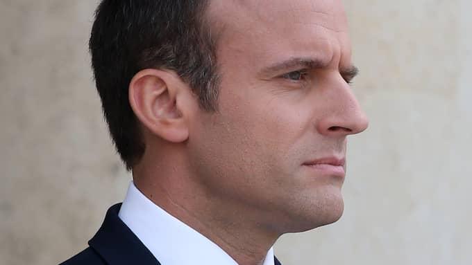 Frankrikes nya president Emmanuel Macron har sin bakgrund i den förra socialistregeringen, men betecknar sig som liberal. Foto: CATUFFE/TEAM B / /IBL E-PRESS PHOTO.COM