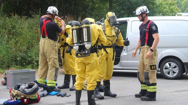 Utsläpp av ammoniak i arena – allmänheten varnas
