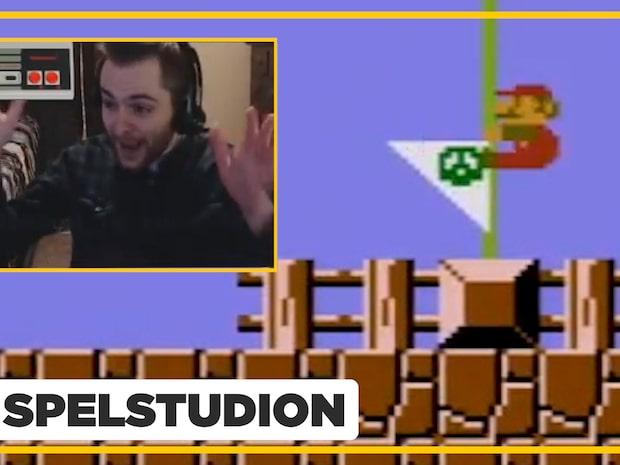 Se hela sinnessjuka Super Mario-rekordet