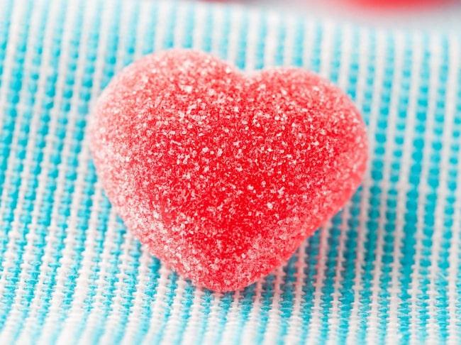 <span>Geléhjärtan är en storsäljare på alla hjärtans dag.</span>
