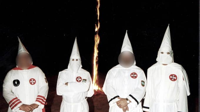 Polisen i Jönköping fick in larm om ett potientiellt Ku Klux Klan-möte.
