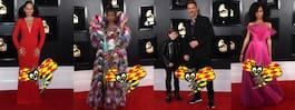 De klädde sig bäst och  sämst på Grammy Awards