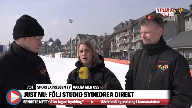 SportExpressenTV rapporterar på plats i Sydkorea.