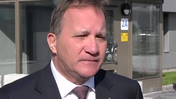 """Stefan Löfven: V ger SD inflytande via """"bulvanen"""" Kristersson"""