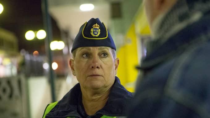 Ulla Brehm, polisens presstalesperson i region Väst. Foto: HENRIK JANSSON