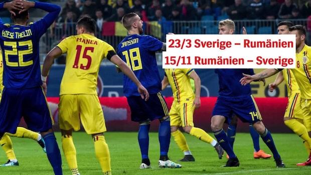 Så spelar Sverige i EM-kvalet