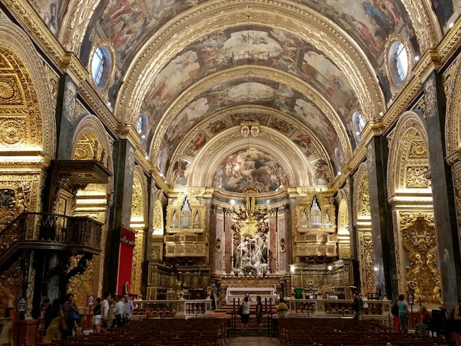 St. John's Co-Cathedral, Valletta.