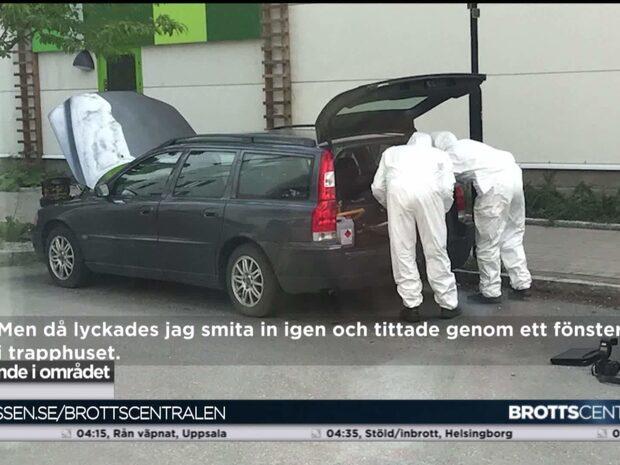 Styckade kroppen låg i en Volvo – man åtalas