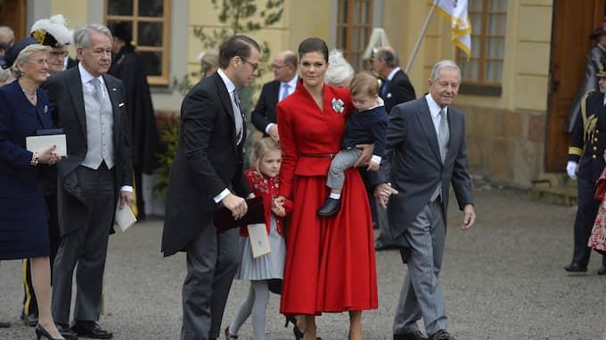 Kronprinsessan Victorias röda klänning var lite för julig, tycker Magda Omerspahic. Foto: Anna-Karin Nilsson