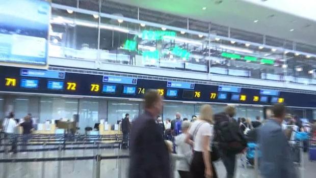 Flera flyg ställs in efter strejk