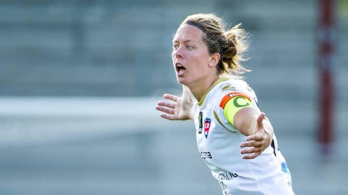 Lina Nilsson har spelat 392 matcher för FC Rosengård. Foto: LUDVIG THUNMAN / BILDBYRÅN