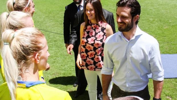 Prins Carl Philip och Prinsessan Sofia på semester i Sydafrika