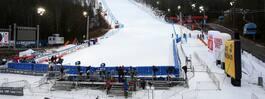 Slalompremiären i Levi uppskjuten