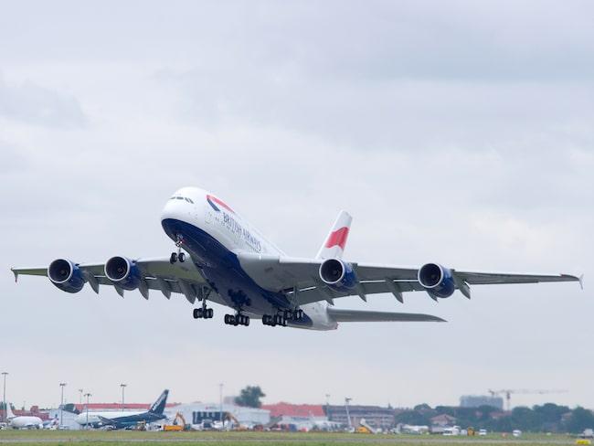 British Airways blir första flygbolaget i Europa med 4G ombord.