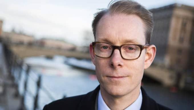 Tobias Billström, M, migrationsminister. Foto: Gunnar Seijbold