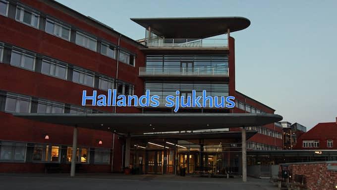 Pojken i femårsåldern fördes med ambulans till sjukhus efter drunkningstillbudet på Brottet i Halmstad. Han uppges vara fysiskt oskadd. Foto: NIKLAS HENRIKCZON