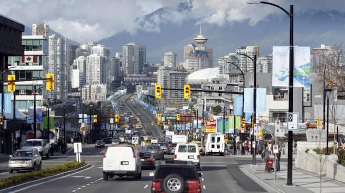 Vancouver är den stad med högst risk för en bostadsbubbla. Foto: Åserud, Lise/TT