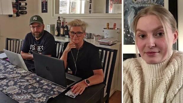 """Familjen Kullenberg jobbar hemma: """"Ett under att vi inte klöst ögonen ur varandra"""""""