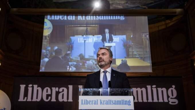 Jan Björklund, ledare för Liberalerna. Foto: Lisa Mattisson