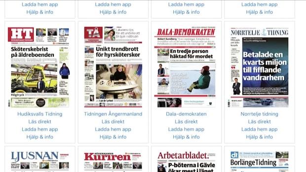 Bonnier och Amedia köper Mittmedia
