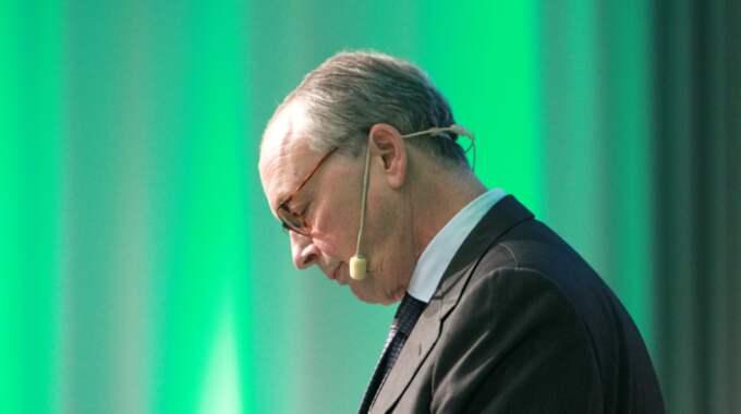 Peter Hjörne, styrelseordförande i Stampen Media Group och tidigare vd för Göteborgs Posten. Foto: TT NYHETSBYRÅN