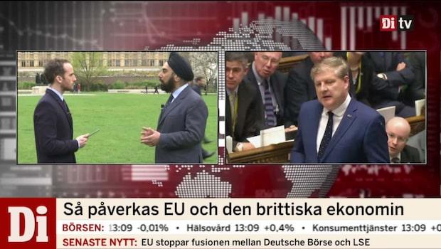 Brexit: Så påverkas EU och den brittiska ekonomin