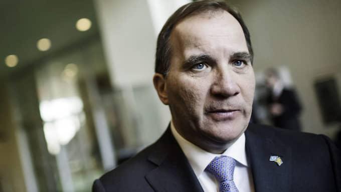 Statsminister Stefan Löfven är på resa i New York. Foto: Linus Sundahl-Djerf /Tt