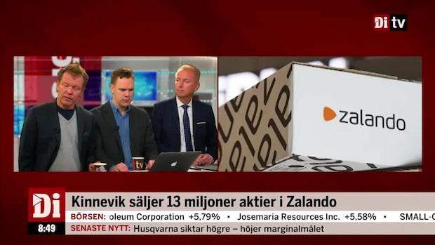 """Kinnevik säljer 13 miljoner aktier i Zalando: """"Har klara investeringar på g"""""""