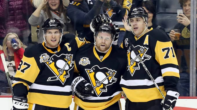 Phil Kessel har producerat fler poäng än Pittsburghs stora fixstjärnor Sidney Crosby och Jevgeni Malkin. Foto: USA TODAY NETWORK / USA TODAY SPORTS/SIPA USA/IBL SIPA USA