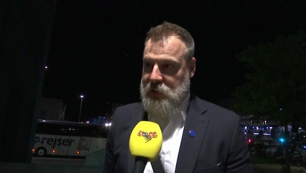 TV: Rikard Grönborg om guldvrålet