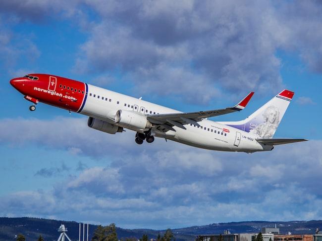 Det är flygbolaget Norwegian som börjar flyga direkt två dagar i veckan.
