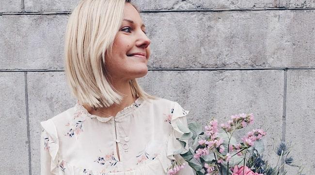 <span>Vanja Wikström har utvecklat en metod som gör att hon inte behöver tvätta håret så ofta.<br></span>