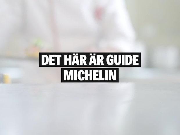 Det här är Guide Michelin