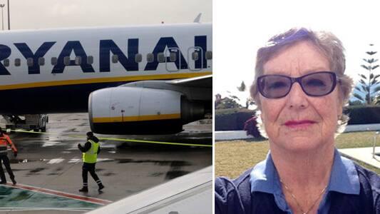 Birgitta Björk, 75, från Borås, flyger ofta till Spanien. Under