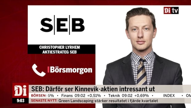 SEB: Därför ser Kinnevik-aktien intressant ut