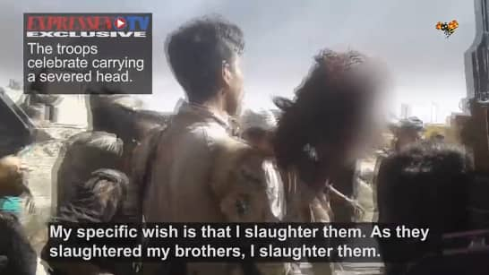 Footage from Iraq reveals liberators murdering and torturing ISIS sympathizers