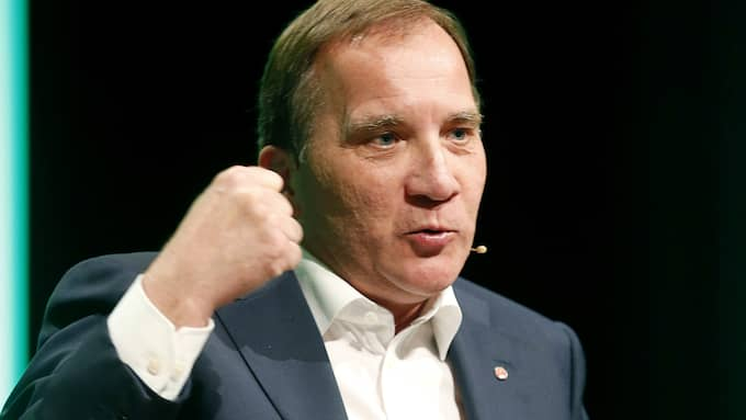 Stefan Löfven kör nu över Miljöpartiet. Foto: STEFAN JERREVÅNG/TT
