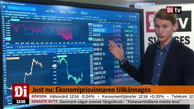 Marknadskoll: Handelstvivel sänker börserna