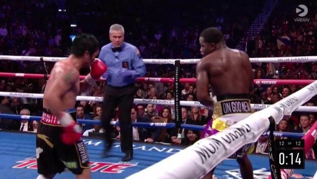 Highligts: Manny Pacquiao mot Adrien Broner