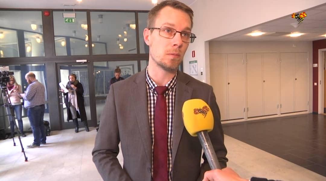 """Åklagare Pontus Melander: """"Straffvärdet ligger i underkant"""""""