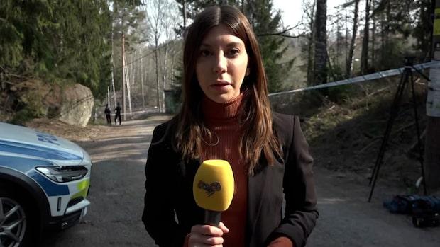 """Expressens reporter: """"Polisen letar efter misstänkt gärningsman"""""""